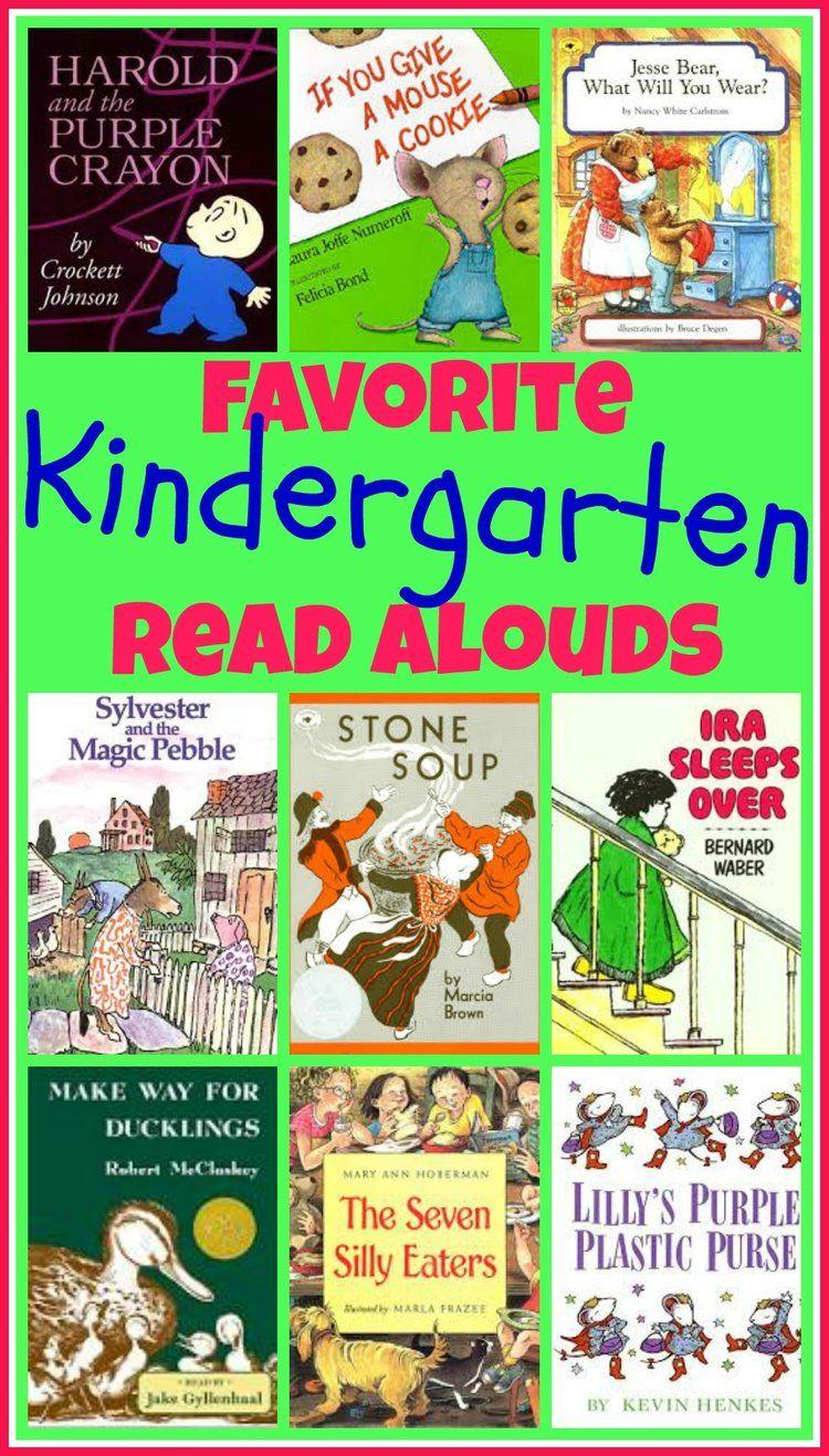 Favorite Books For A 5 Year Old Happy Homeschool Nest Kindergarten Books Kindergarten Reading Preschool Books Best short read aloud books for 2nd
