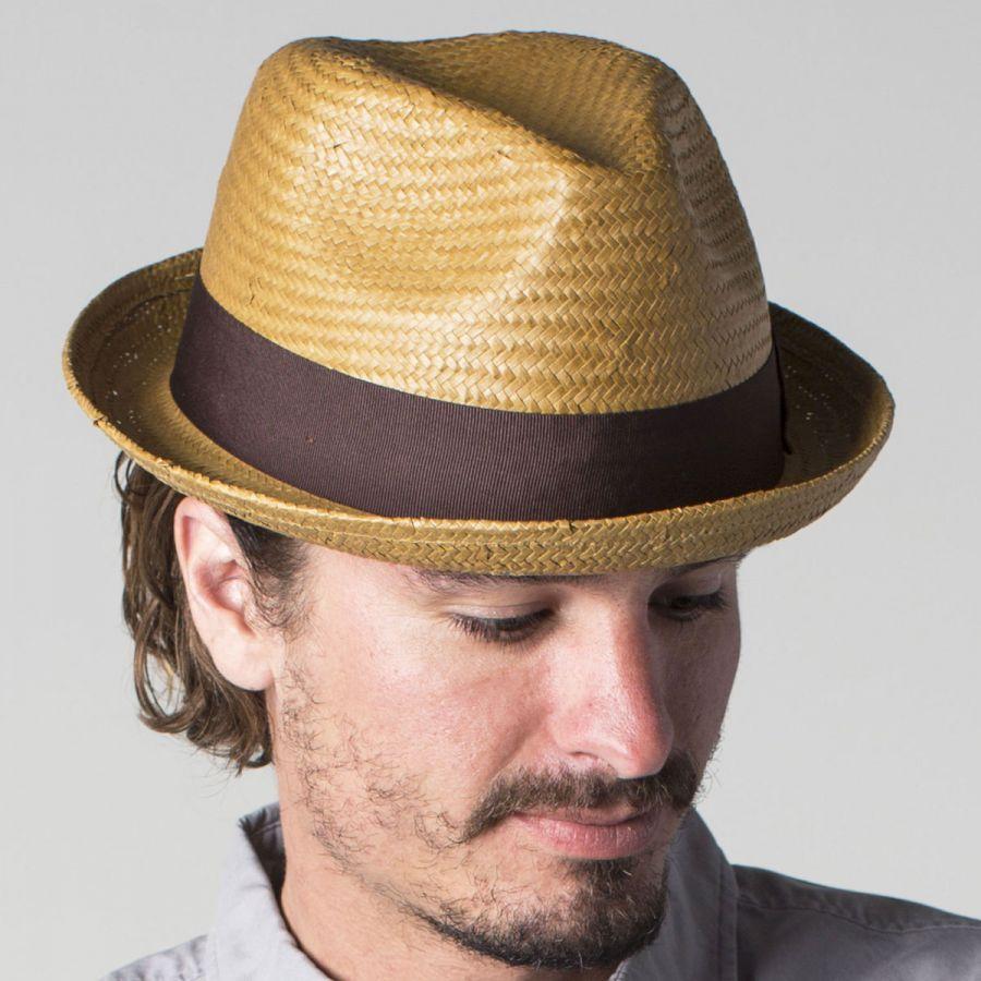 7901b8ac Castor Toyo Straw Fedora Hat | Style | Straw fedora, Hats, Fedora hat