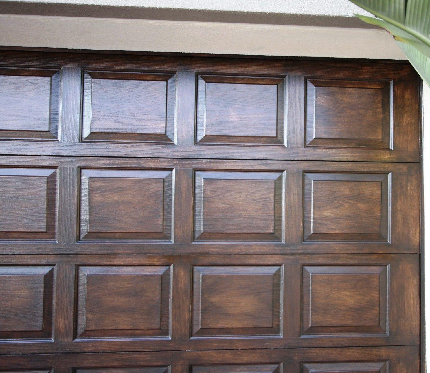 Disadvantages Of Faux Wood Garage Doors In 2020 Faux Wood Garage Door Metal Garage Doors Faux Wood Garage Door Diy