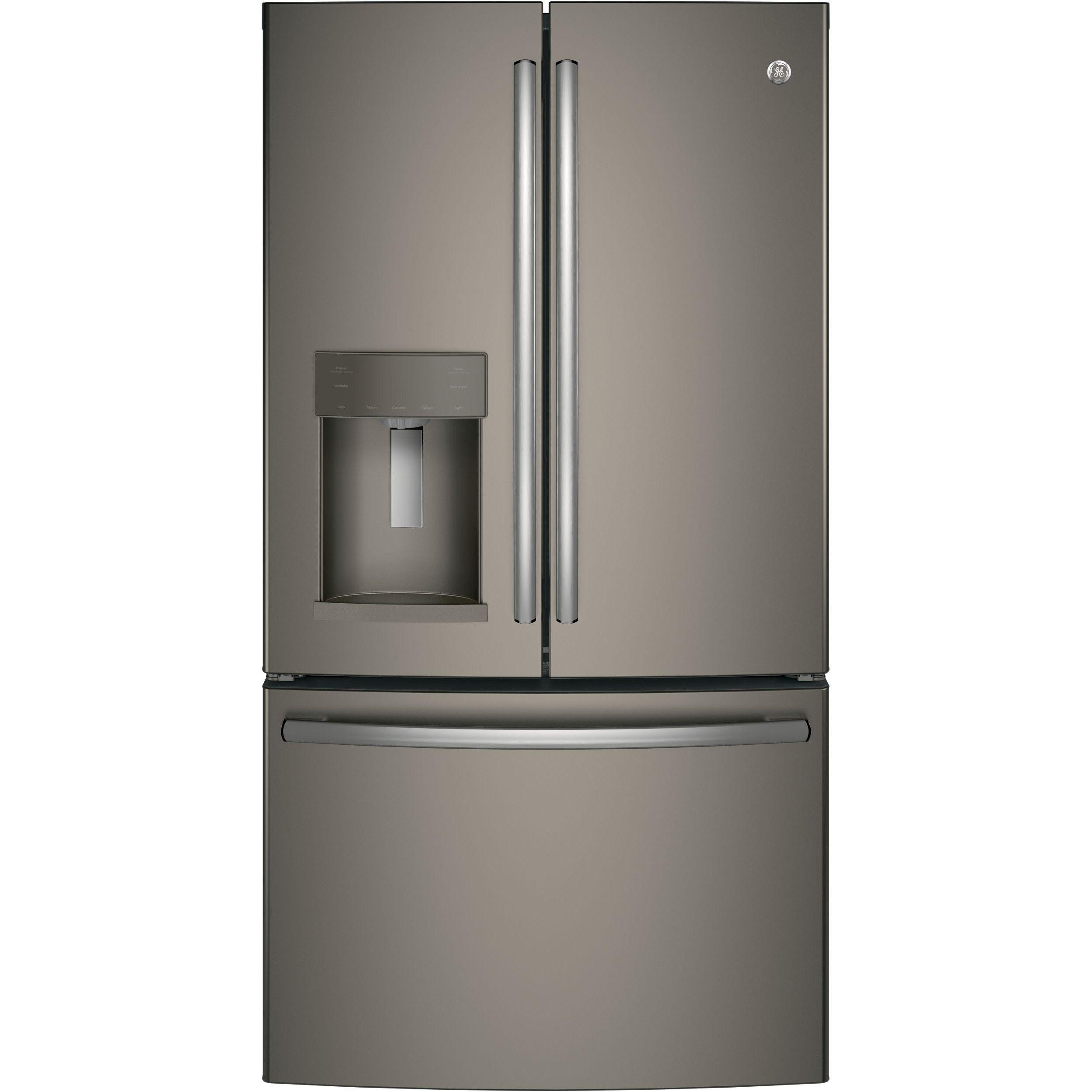 GE Energy Star Slate Grey 27.8 Cubic Foot French-door Refrigerator (Slate)