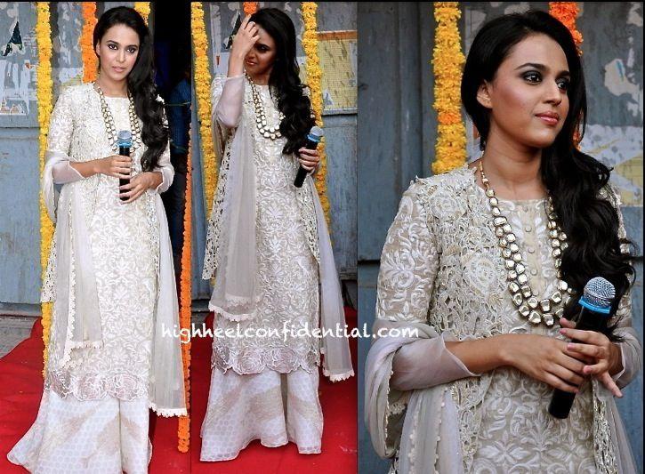 Cream sharara outfit by Krishna Mehta   India Fashion   Pinterest