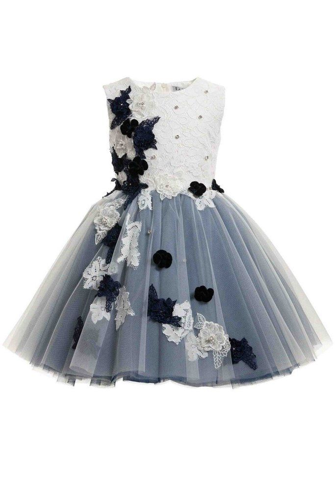 Navy blue white floral embroidered dress girls dress girls navy blue white floral embroidered dress girls dress girls dresses and diy clothing mightylinksfo