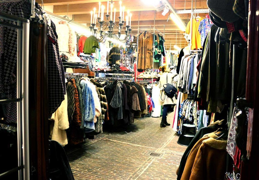 Best Vintage Clothing Shopping In Amsterdam Cute Shops Markets Shopping Outfit Vintage Clothes Shop Amsterdam Shopping