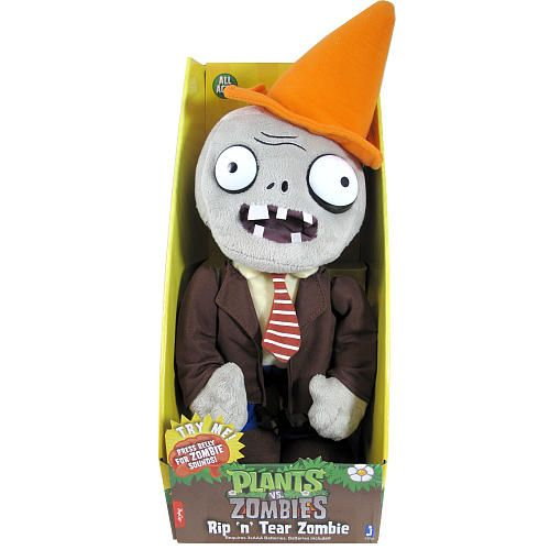 Zombie Toys R Us : Plants vs zombies inch zombie plush jazwares