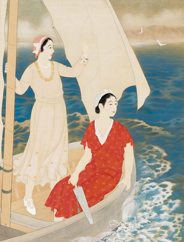 "Miki Suizan (1887-1957), ""Fair Wind (Junpū),"" 1933."