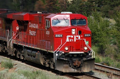 Canadian Pacific Limited GE ES44AC No  8824 at Spences
