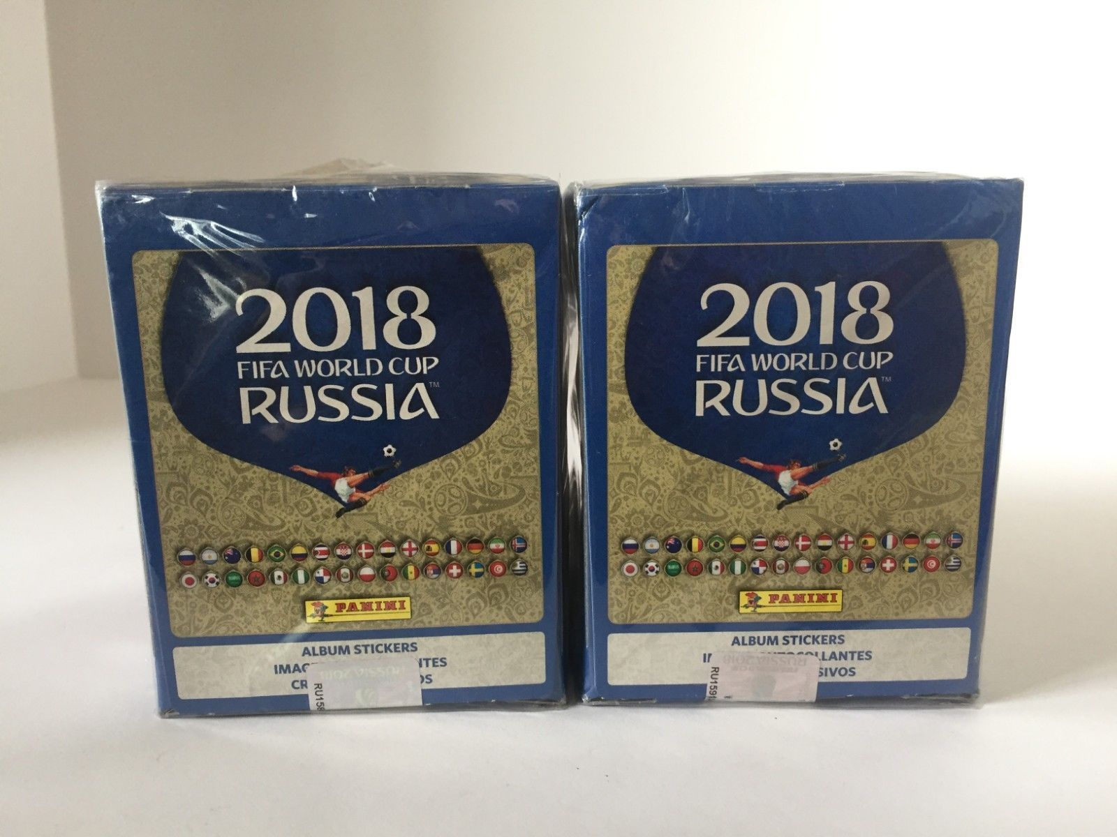 Lot X 2 2018 Fifa World Cup Russia Album Stickers 50 Packets A1 Discount Price 59 95 Free Shipping Buy It Now