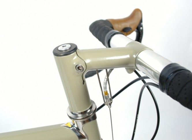 Custom Stem Mounted Front Brake Cable Stop Via Chapman Cycles