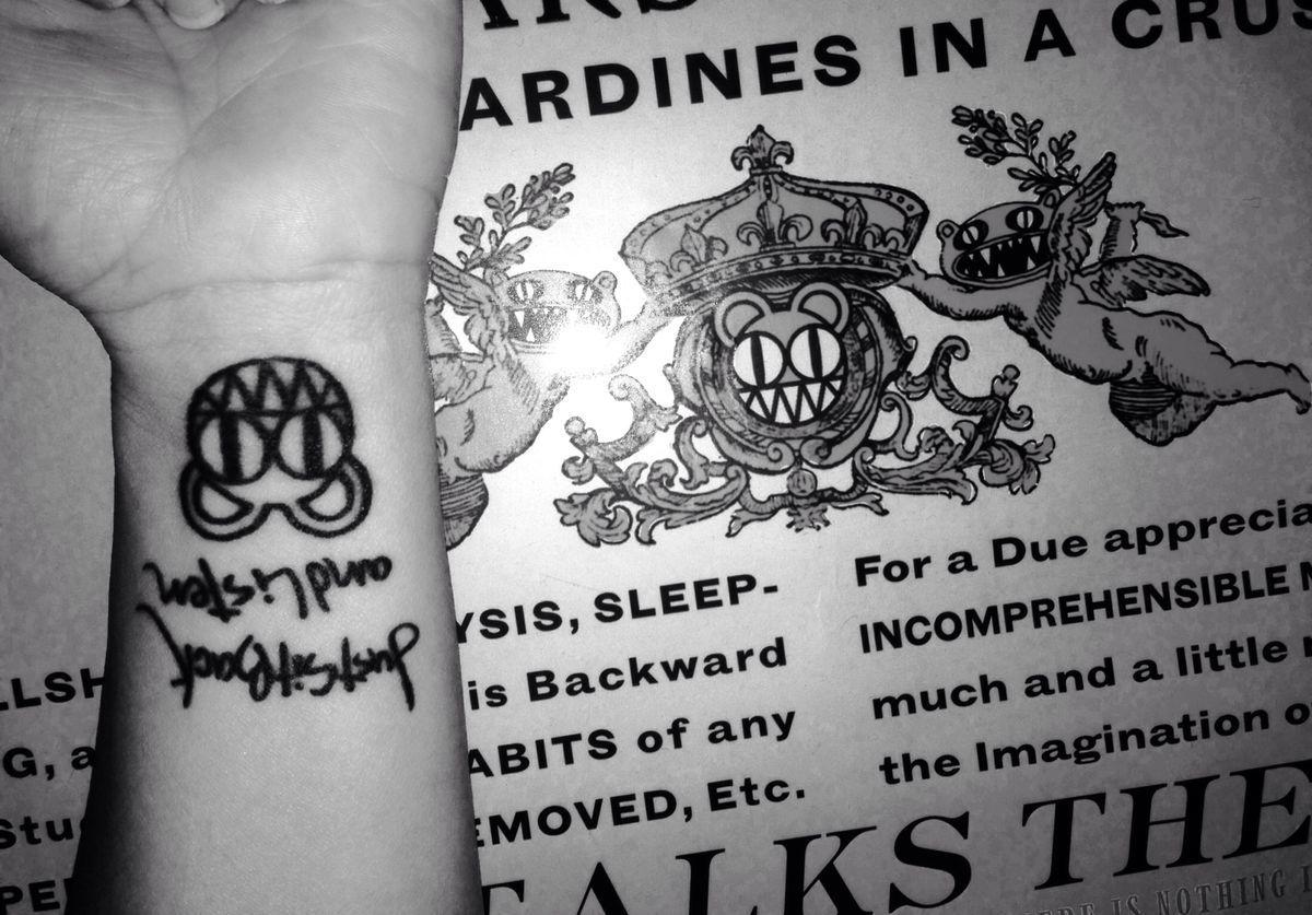 Amazing Radiohead Tattoos Part 2 25 Tattoos