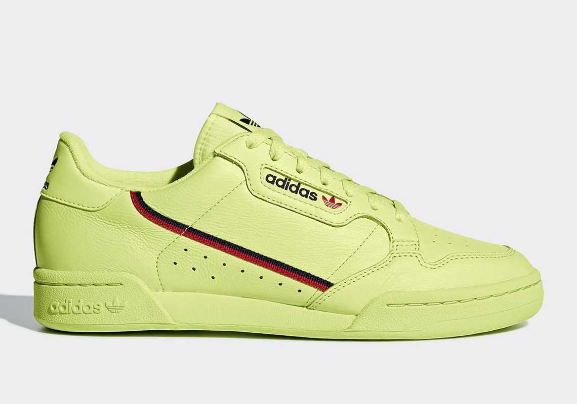 The adidas Continental 80 Is Dropping In Semi-Frozen Yellow ...