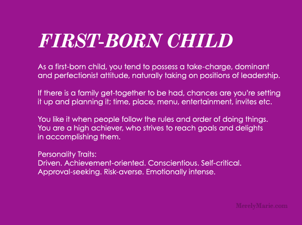 Discover Your Birth Order Personality First Child Personality