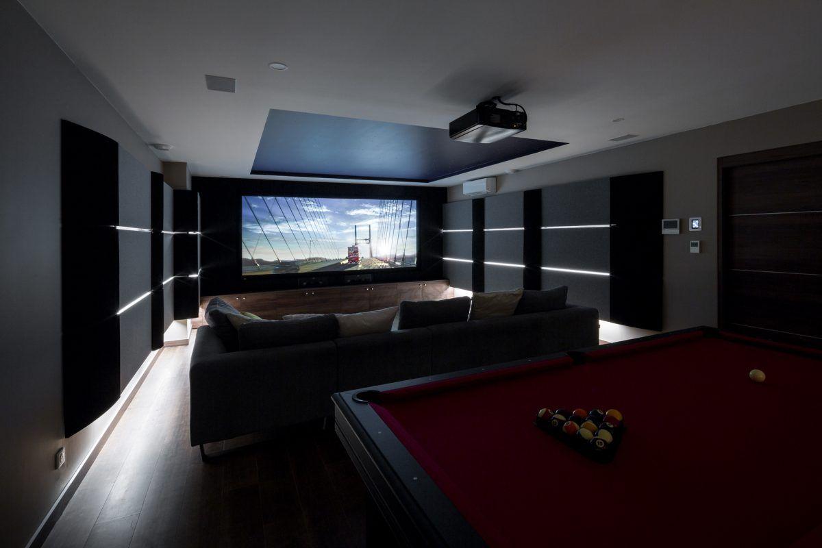 Salle De Sport Privée salle de cinéma privée // dsr – romain chambodut in 2019