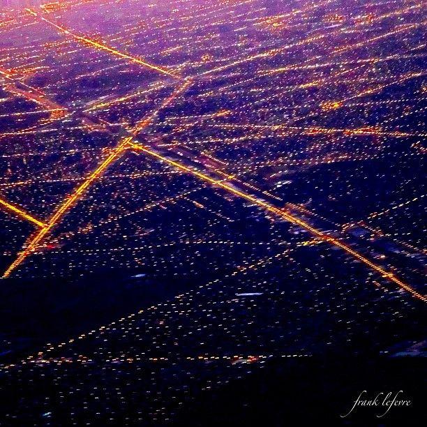 Chicago lights - @frankyboy1- #webstagram