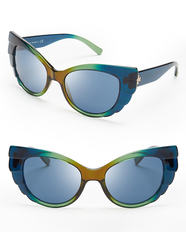 Tory Burch Beetle Cat Eye Sunglasses | Bloomingdale's
