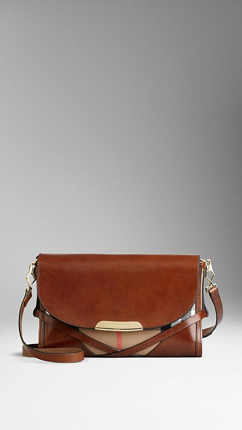 f9c4df86f7d Burberry Small Bridle House Check Crossbody Bag | Handbags ...