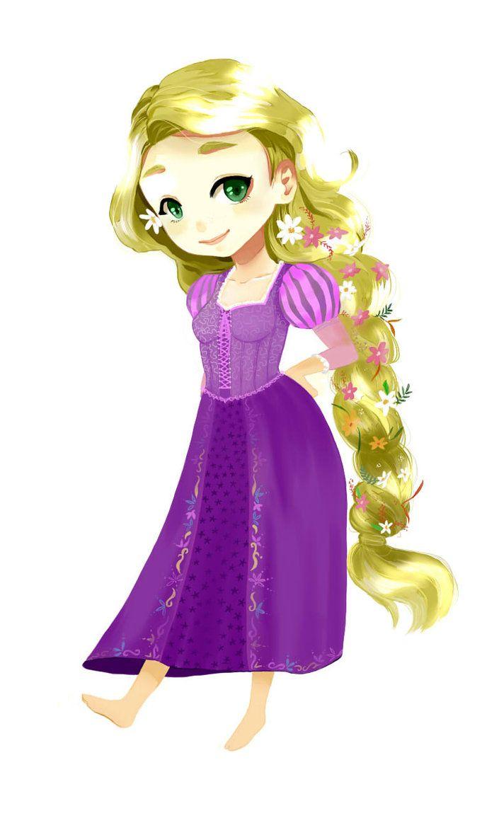 Rapunzel by ~nayara on deviantART