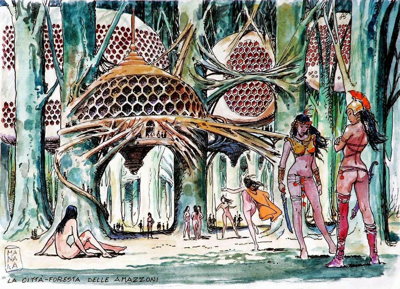 Dessin - Milo MANARA (1945) - Artprecium