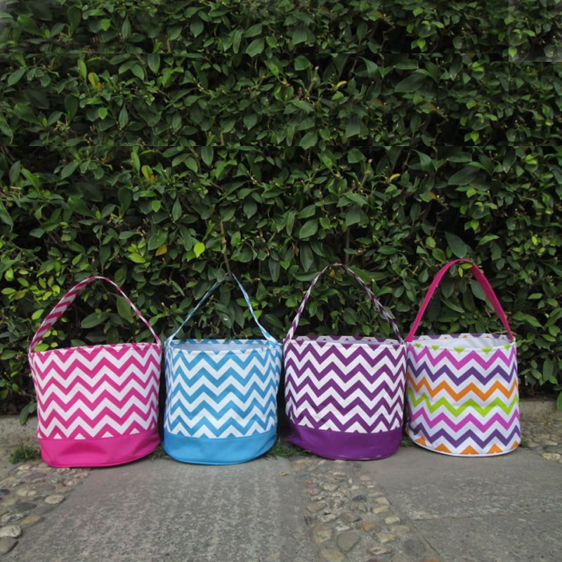 Wholesale chevron easter bucket chevron easter tote bag wholesale chevron easter bucket chevron easter tote bag monogrammable toy chevron easter basket for kids domil 101091 negle Gallery