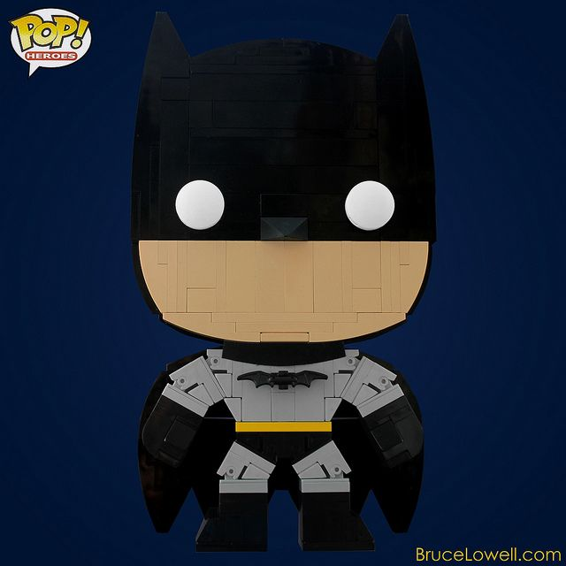 LEGO Batman (POP! Hero) by bruceywan, via Flickr