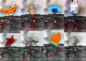 les petites têtes de l'art: Objet volant non identifié sur photo