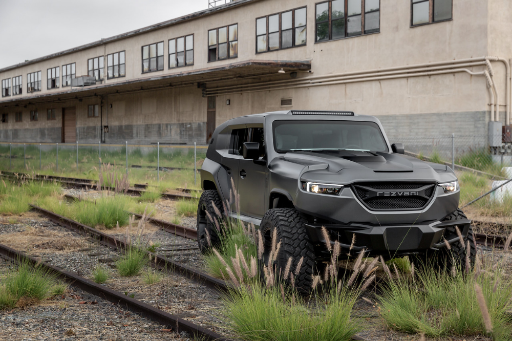 Rezvani Suv Tank War Machine