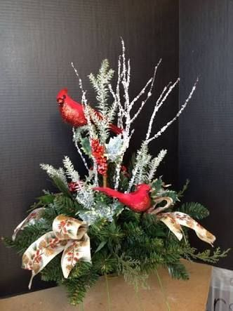 Resultado de imagen para christmas arrangements Centros de mesa