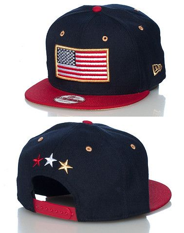 outlet store 09c83 34cff NEW ERA USA flag snapback cap Adjustable strap on back Embroidered flag on  front Jimmy Jazz Exclusiv... Adjustable fit. 100% wool. Navy 70195971.