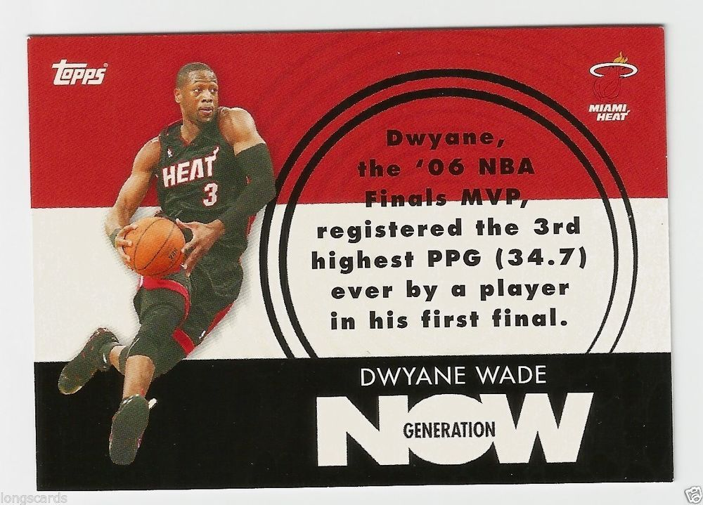 Park Art My WordPress Blog_Dwyane Wade Rookie Card Topps