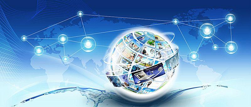 التكنولوجيا الحديثة الخلفية Business Logo Design Background