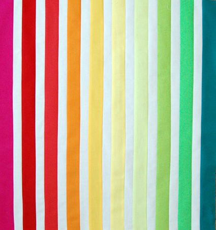 rainbow quilt for beach