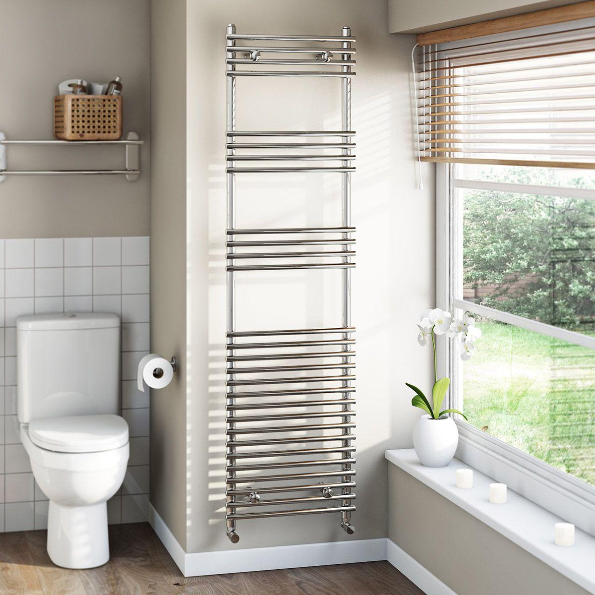 189 Tubular Heated Towel Rail 1650 x