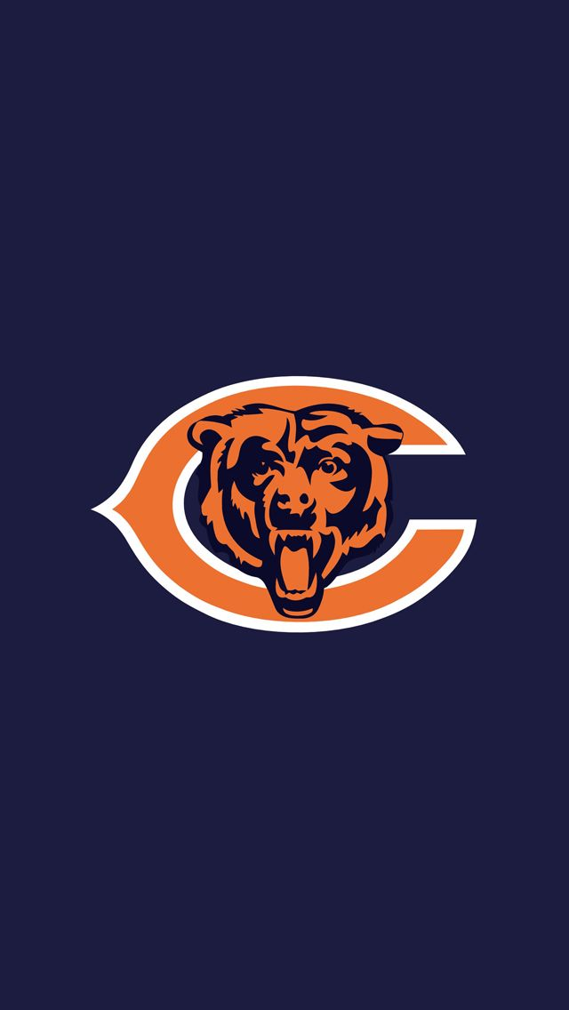 Chicago Bears Iphone Wallpaper Wallpapersafari Chicago Bears Logo Chicago Bears Wallpaper Chicago Bears