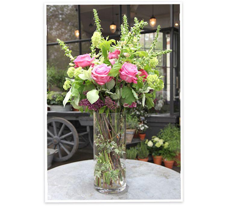How to arrange flowers in a vase flower arrangements