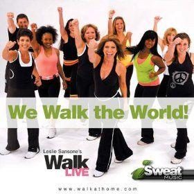 Leslie Sansones Walk Live Music! 130-150 BPM (For Treadmill