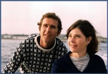 Young George And Laura Bush Inspire