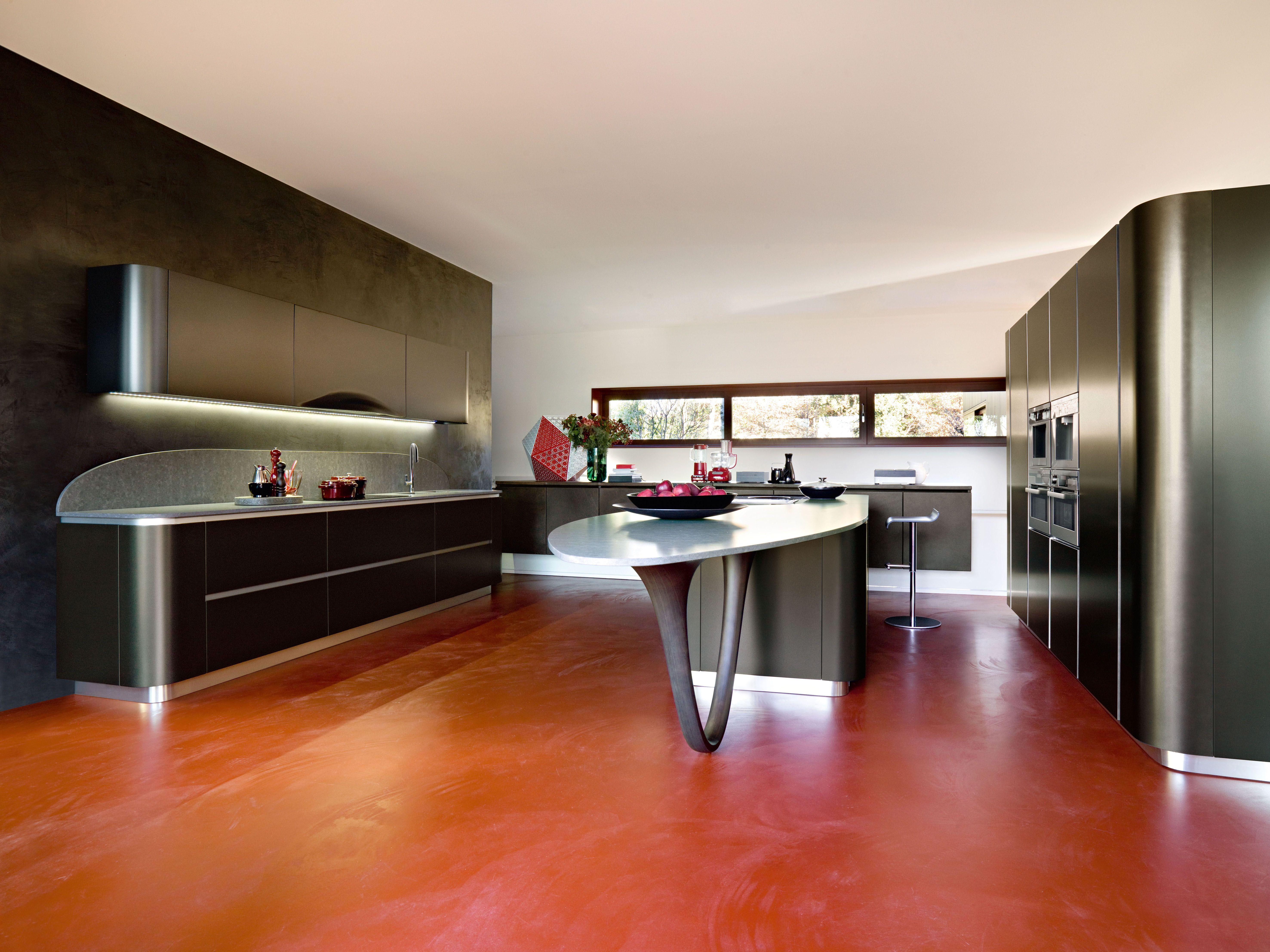 Snaidero #Cucine #Kitchen Ola 20, Pininfarina Design. The hanging ...