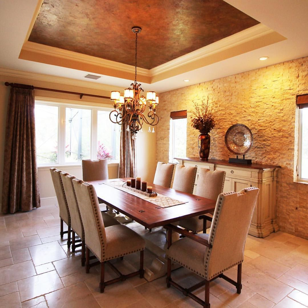 Pin by Just Being Amelia on Dining Room   Stone feature ...