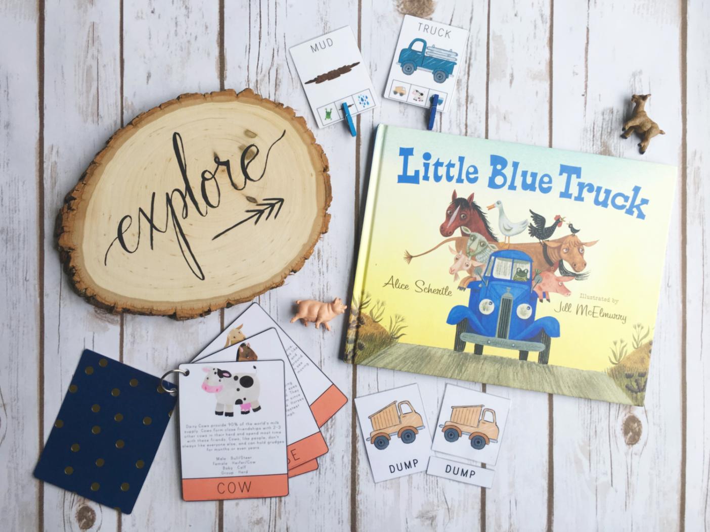 Little Blue Truck Preschool Unit