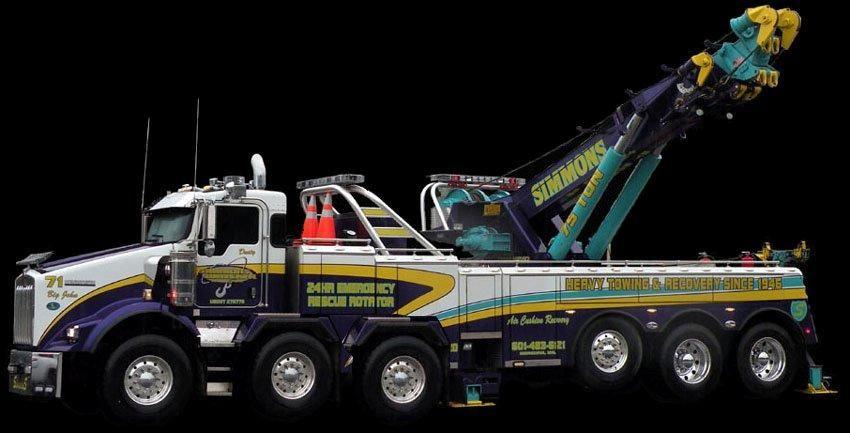 Crazy Tow Truck With Images Big Rig Trucks Big Trucks