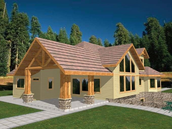 Eplans ranch house plan three bedroom ranch 2377 for Eplans house plans