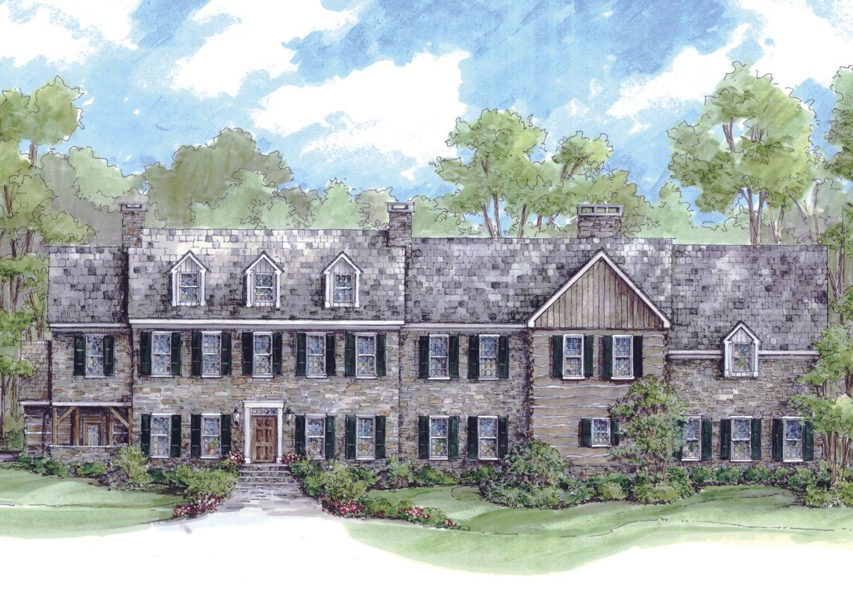 Massive Colonial House Plan 13336ww Architectural Designs House Plans Colonial House Plans Colonial House Architectural Design House Plans