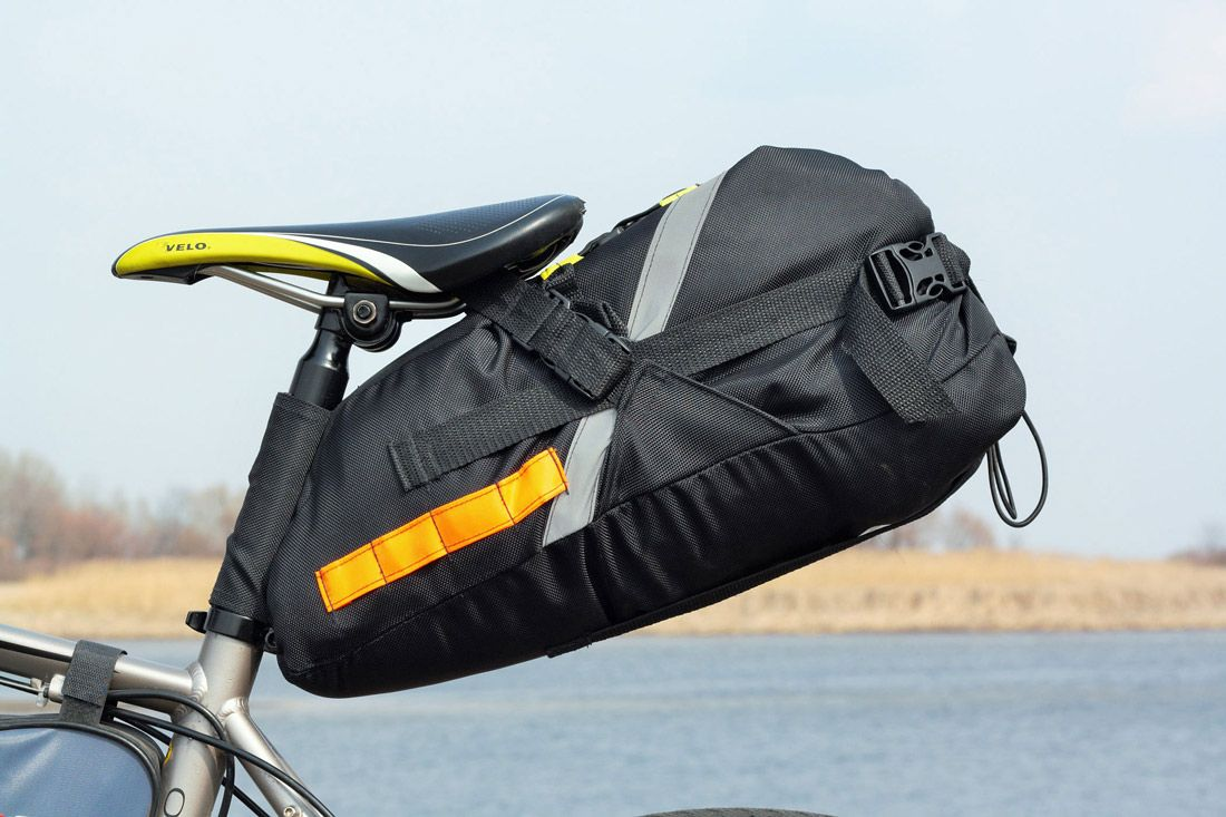 Bicycle Saddle Bags for Lightweight Touring | BAG4BIKE | Bici ...
