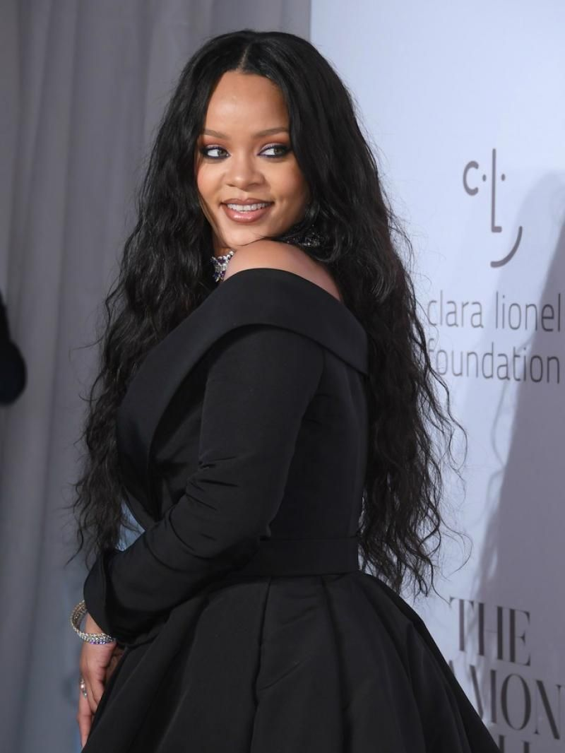 """updated 16"""" - 26"""" available pre-plucked hairline rihanna"""