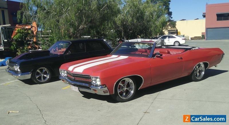 1970 Chevrolet Convertible Impala Chevelle Stripes 350 Rust Free