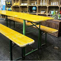 Vintage German Beer Table And Bench By GBantiques On Etsy, £169.00