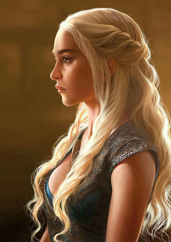Daenerys Targaryen Emilia Clarke Game Of Thrones Hair