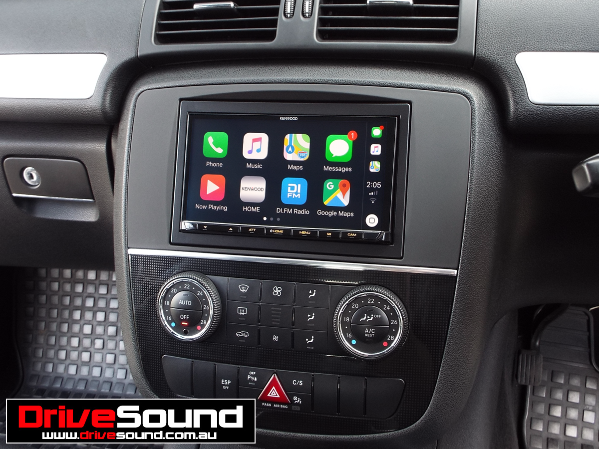 Mercedes Benz R Class With Apple Carplay Installed By Drivesound