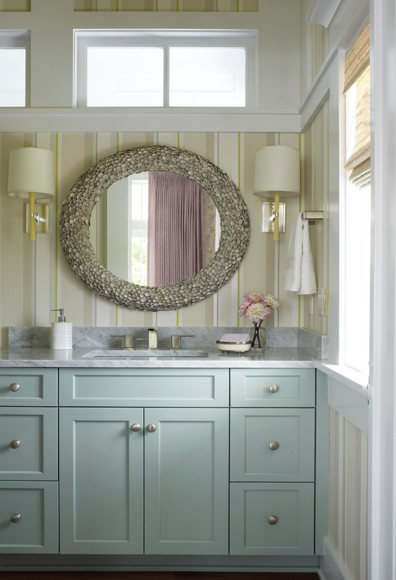Image result for beach themed bathroom mirrors | Nautical ...