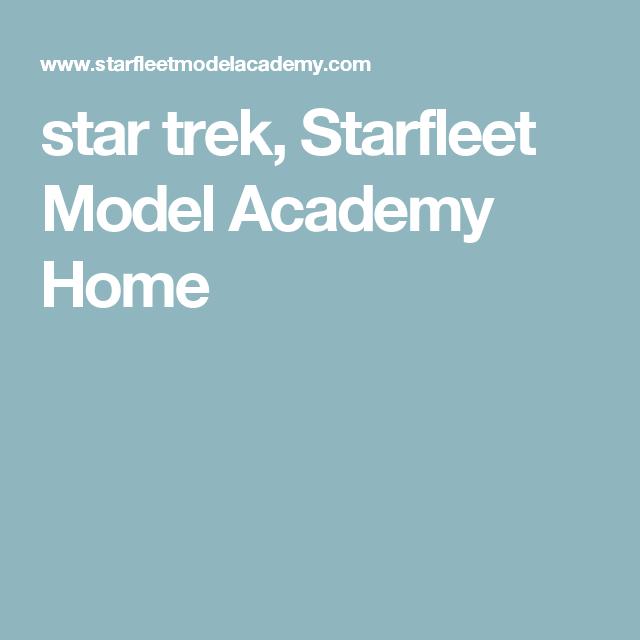 star trek, Starfleet Model Academy Home
