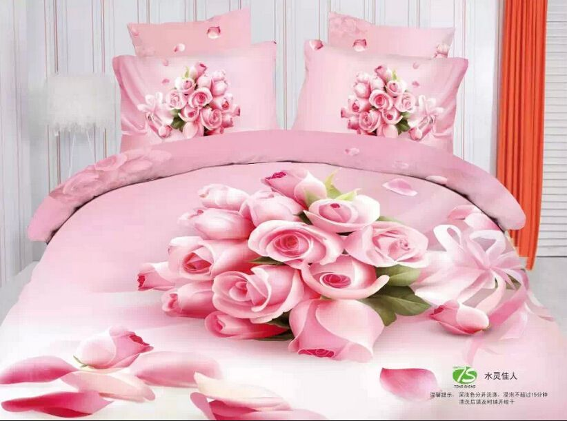 cheap cover lcd buy quality cover rim directly from china flower roller suppliers pink rose flowers comforter sets pink bed linen luxury bedding sets